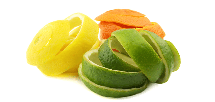 Citrus fruit peels