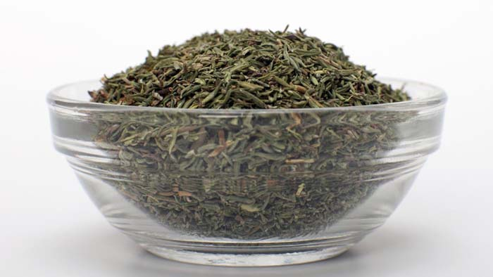 Dried thyme for dandruff