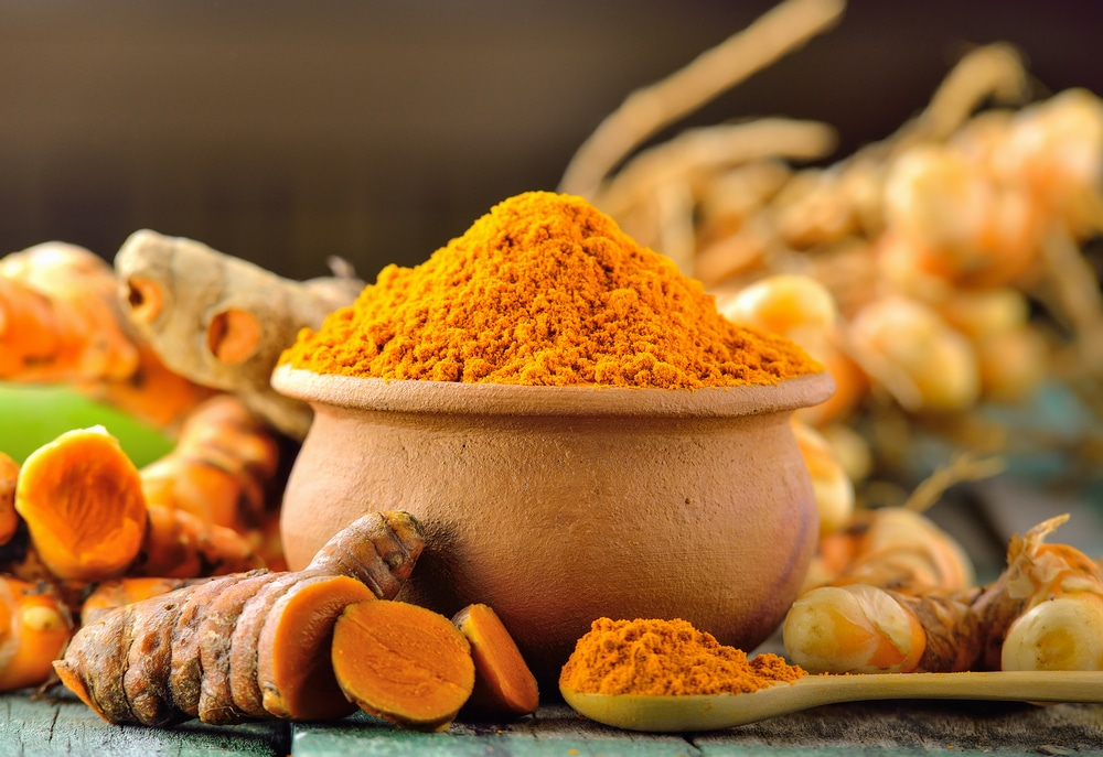 Turmeric can help reduce chronic dry cough