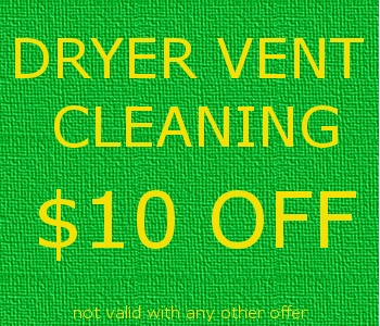 Dryer vent coupon for 10% off