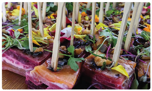 Four Seasons Catering Heavy Appetizers