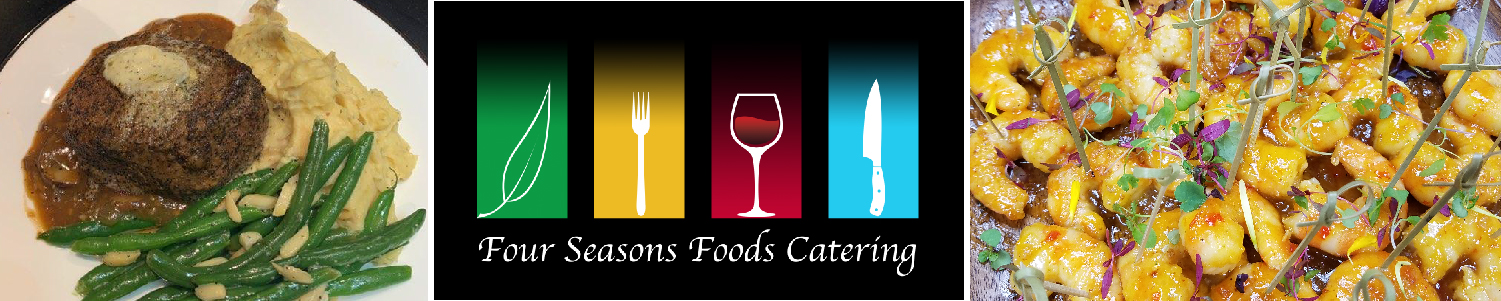 Four Seasons Catering Dining Menu