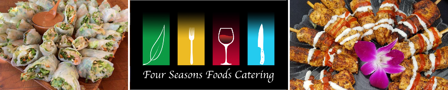 Four Seasons Catering Heavy Appetizer Menu