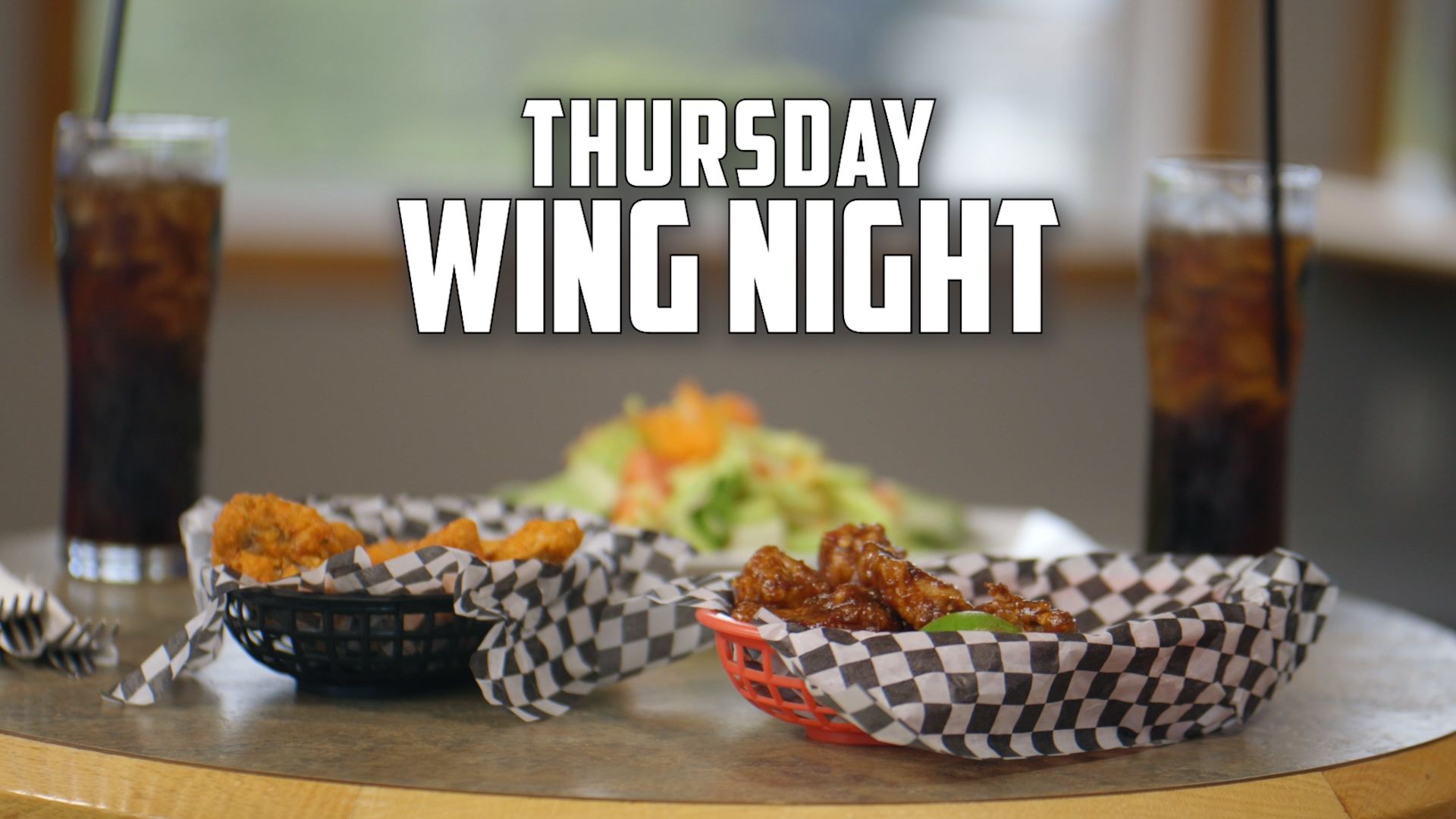 Wing Night Promo for Candle Lake Golf Resort