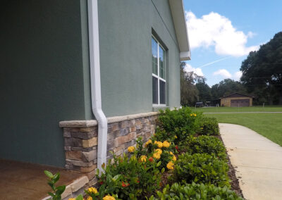 Exterior House Stone Work