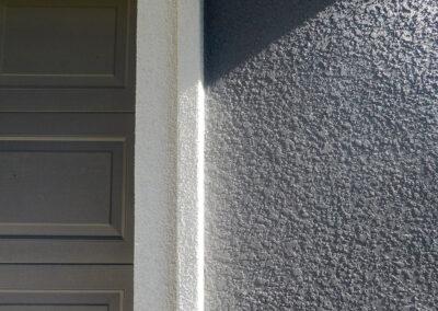 Exterior House Stucco Closeup