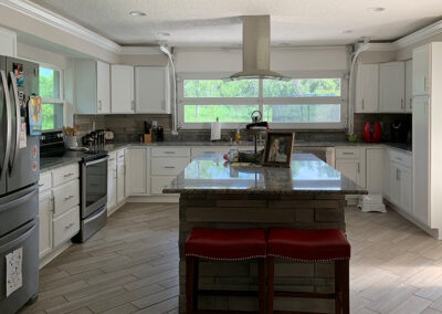 Kitchen Cabinetry & Stonework