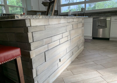 Kitchen Cabinets & Stone Work Interior