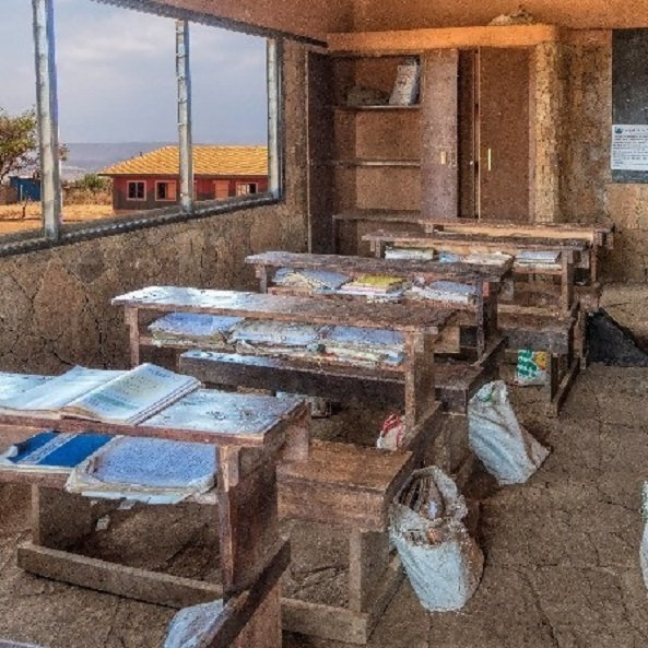 Study conditions at a rural school in Kenya
