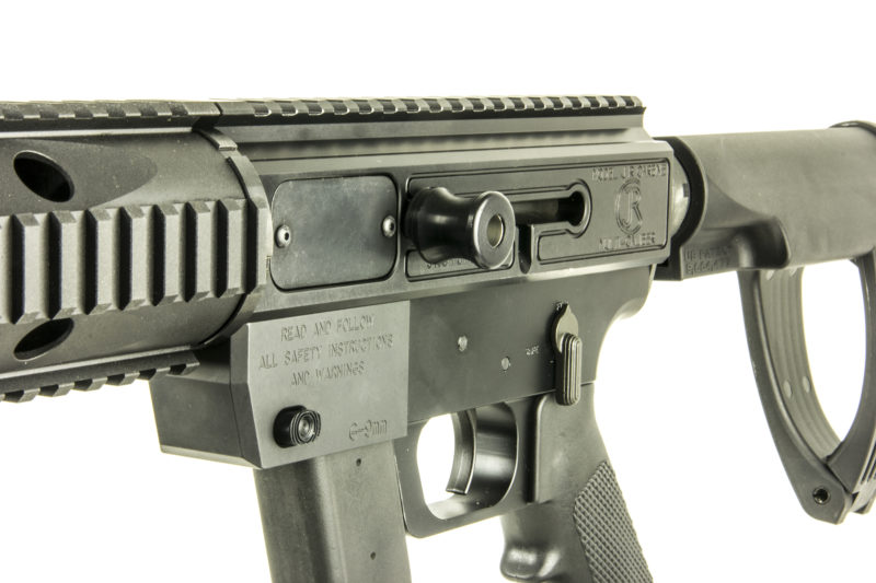 JRC-charge-handle-adapter-on-rifle