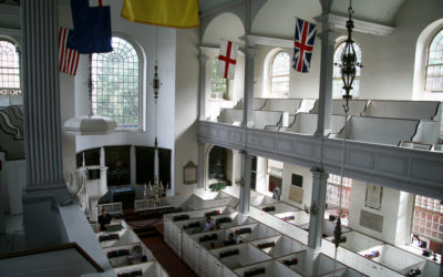 …Two if By Sea. Visiting Boston's Old North Church