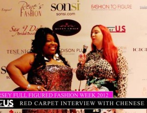 Liz Black of Plusforus.com interviews Celebrity Host Chenese Lewis