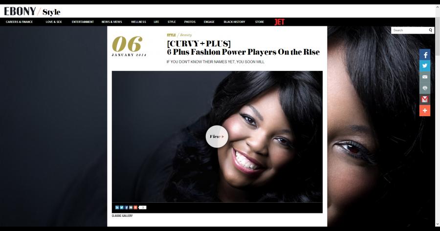[CURVY + PLUS  6 Plus Fashion Power Players On the Rise - Photos - EBONY