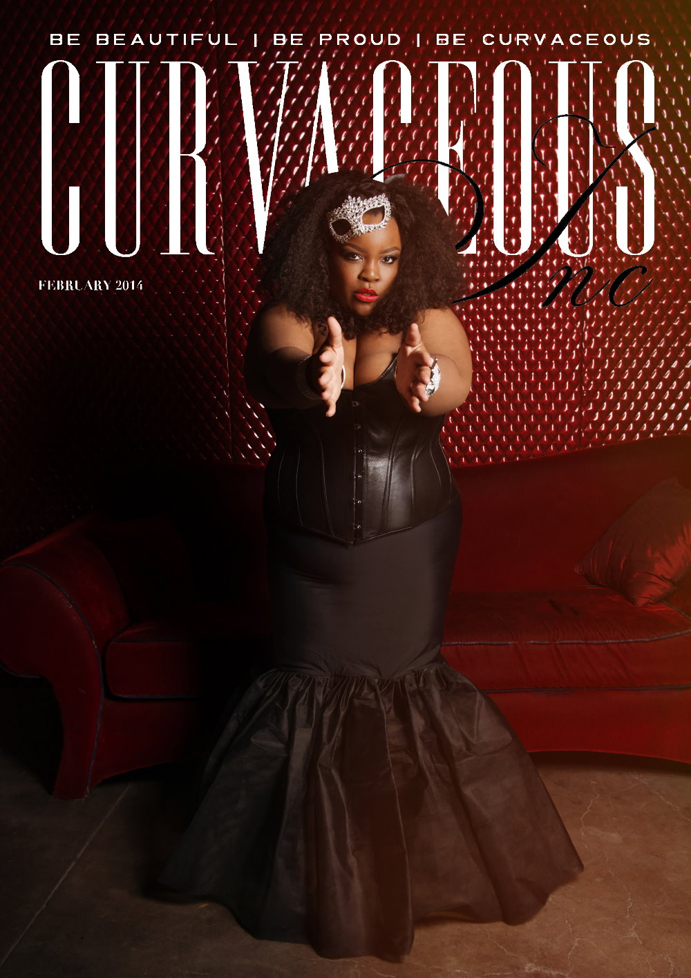 Curvaceous Mag Cover