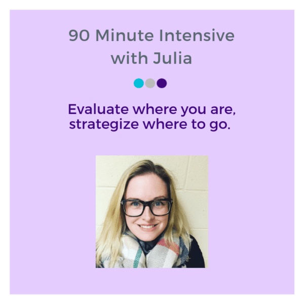 90 Minute with Julia Define and Design Co