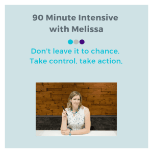 90 minute with Melissa Define and Design Co