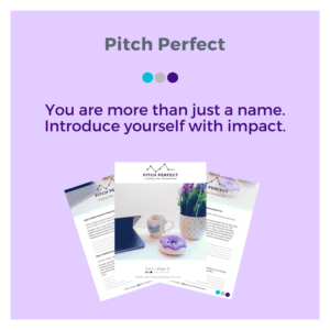 Pitch Perfect_ Crafting Your Introduction Product Image