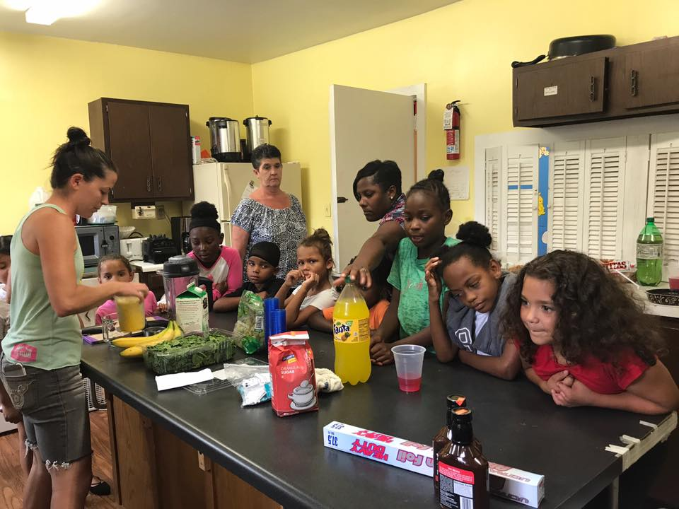 Cooking Class for our Young people