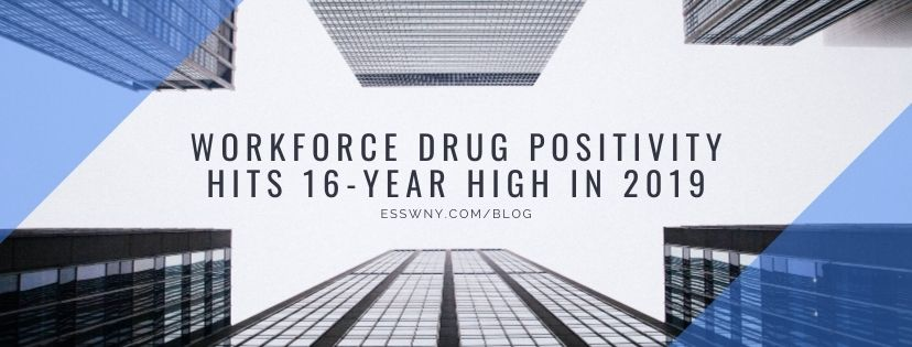Workforce Drug Positivity Hits 16-Year High in 2019