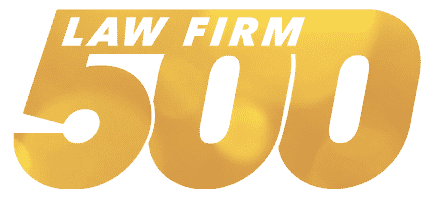 law firm 500 award