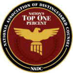 top one percent, national association of distinguished counsel
