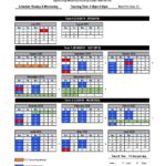 2019-2020 Updated North Tech Calendar