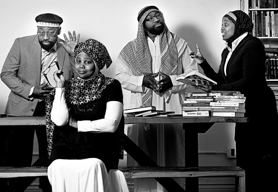 Jenny and Rufus, Rufus and Jenny, Muslim Media Couple, Ebony Magazine Couple of the Year, Jenny Triplett, Rufus Triplett, Muslim Diversity, Muslim Married Couple