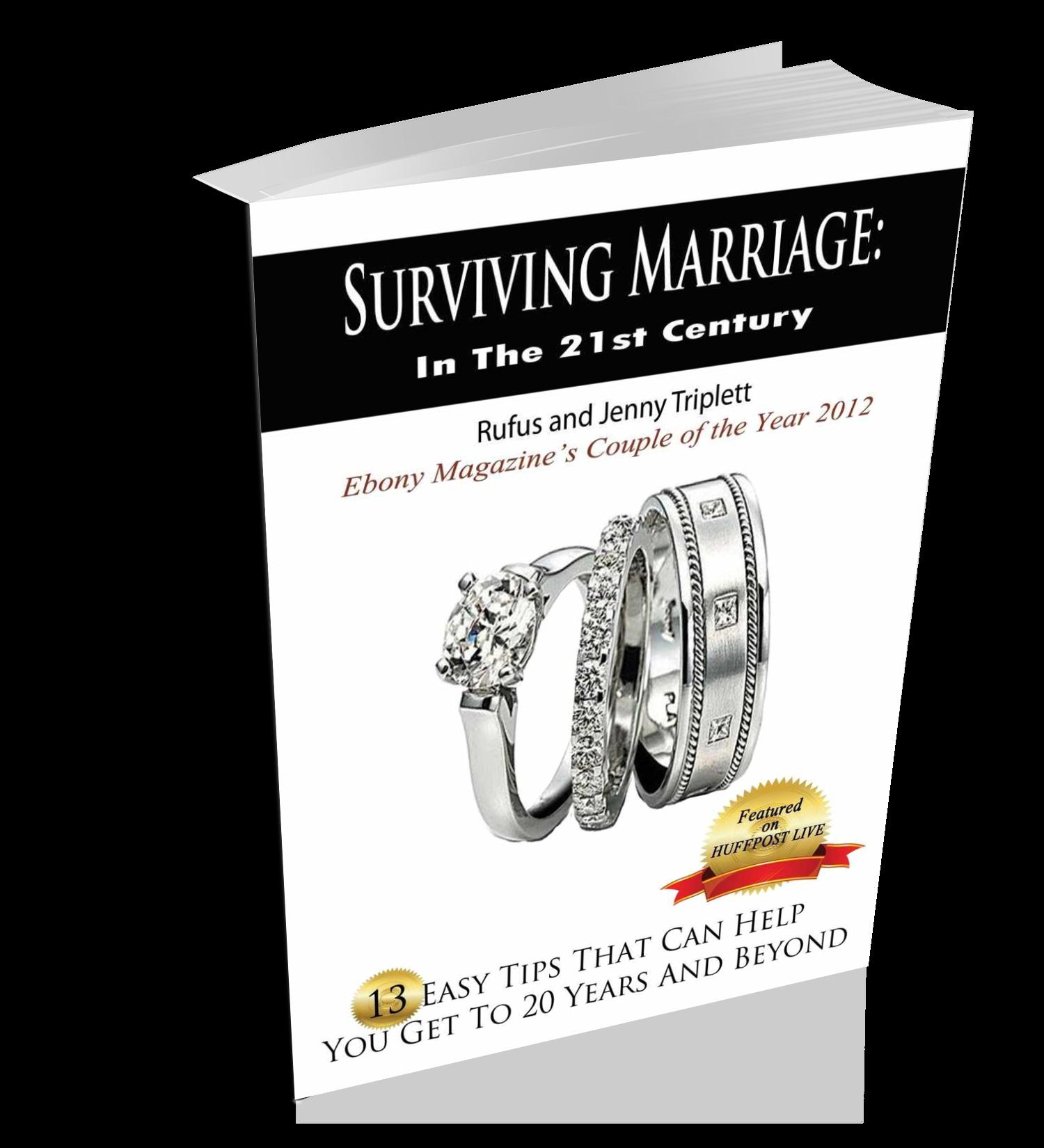 Surviving Marriage Tips book on Survivig Marriage.com, surviving marriage in the 21st century
