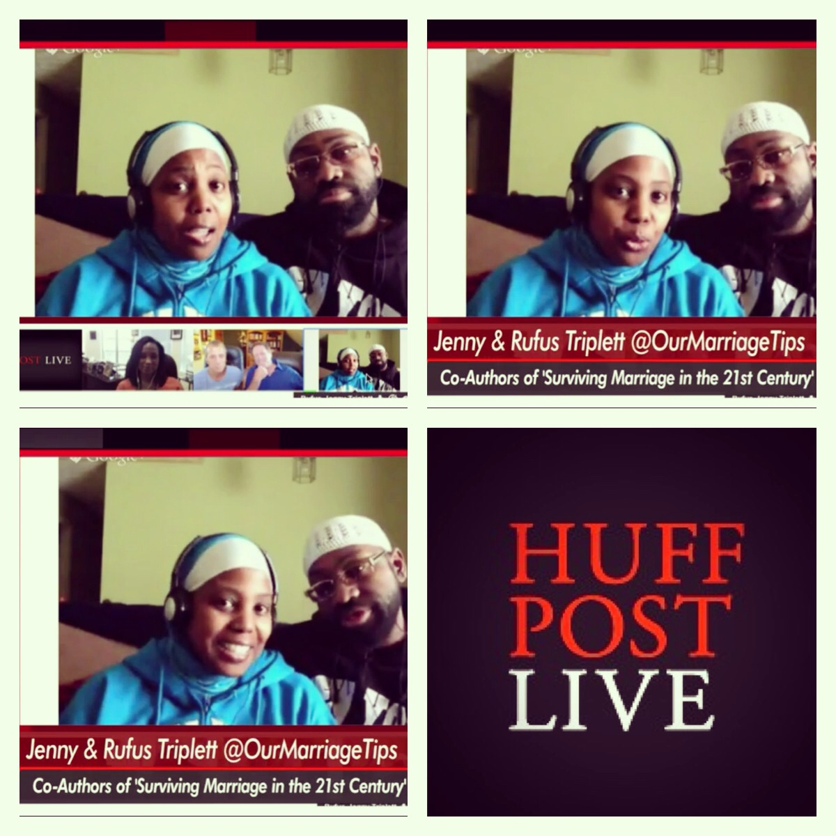 Jenny and Rufus go viral on Huff Post Live