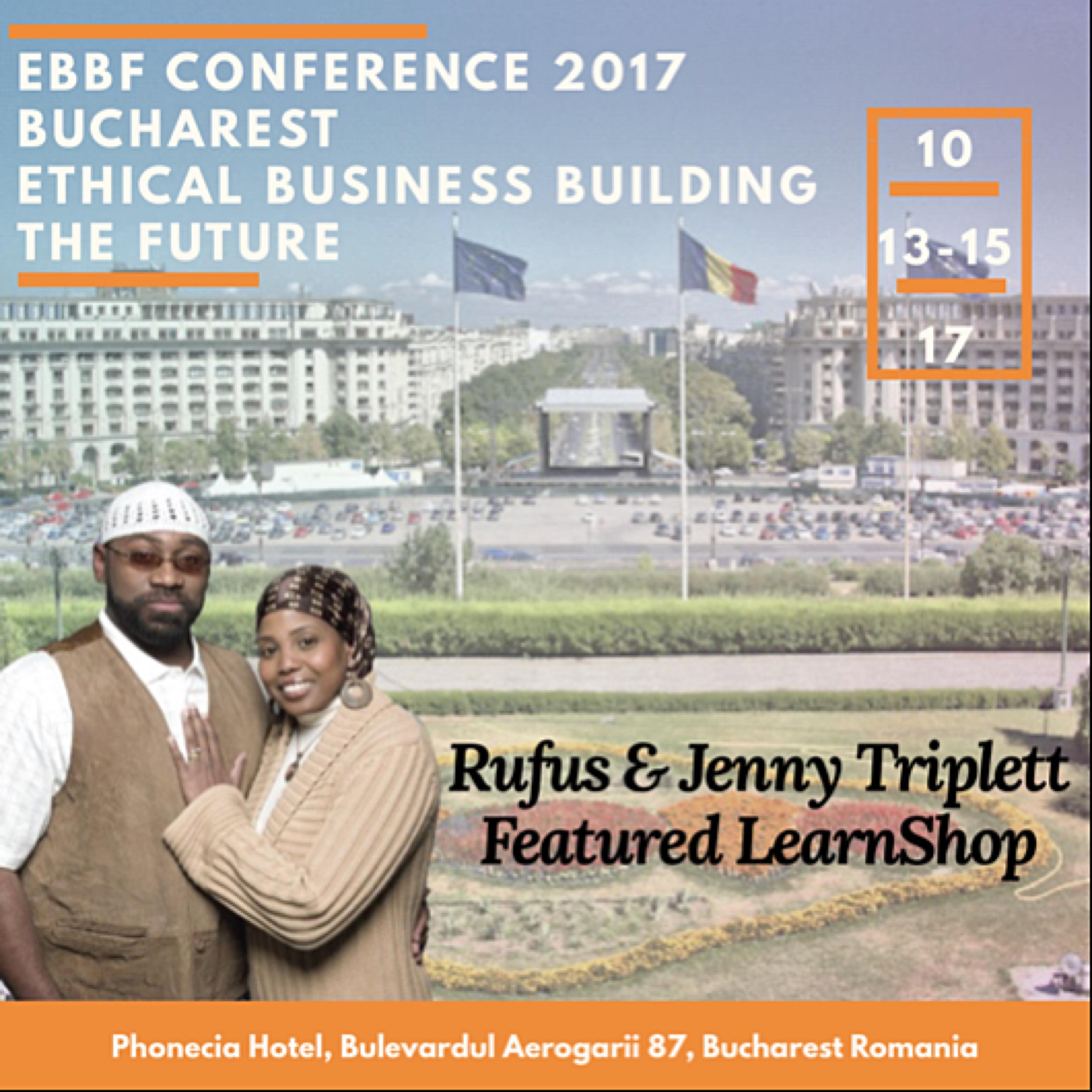 EBBF in Romania, Bucharest , rufus and jenny, jenny triplett, rufus and jenny spirtual interprise, rufus and jenny do business in Romania