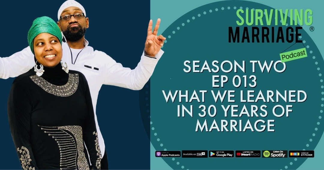 #SurvivingMarriage – What We Learned in 30 Years of Marriage