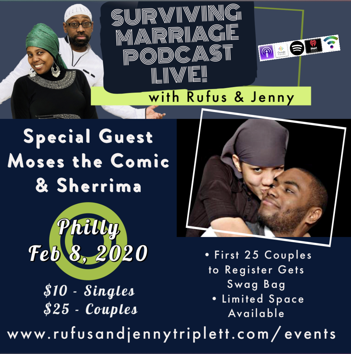 Surviving Marriage Live in Philly