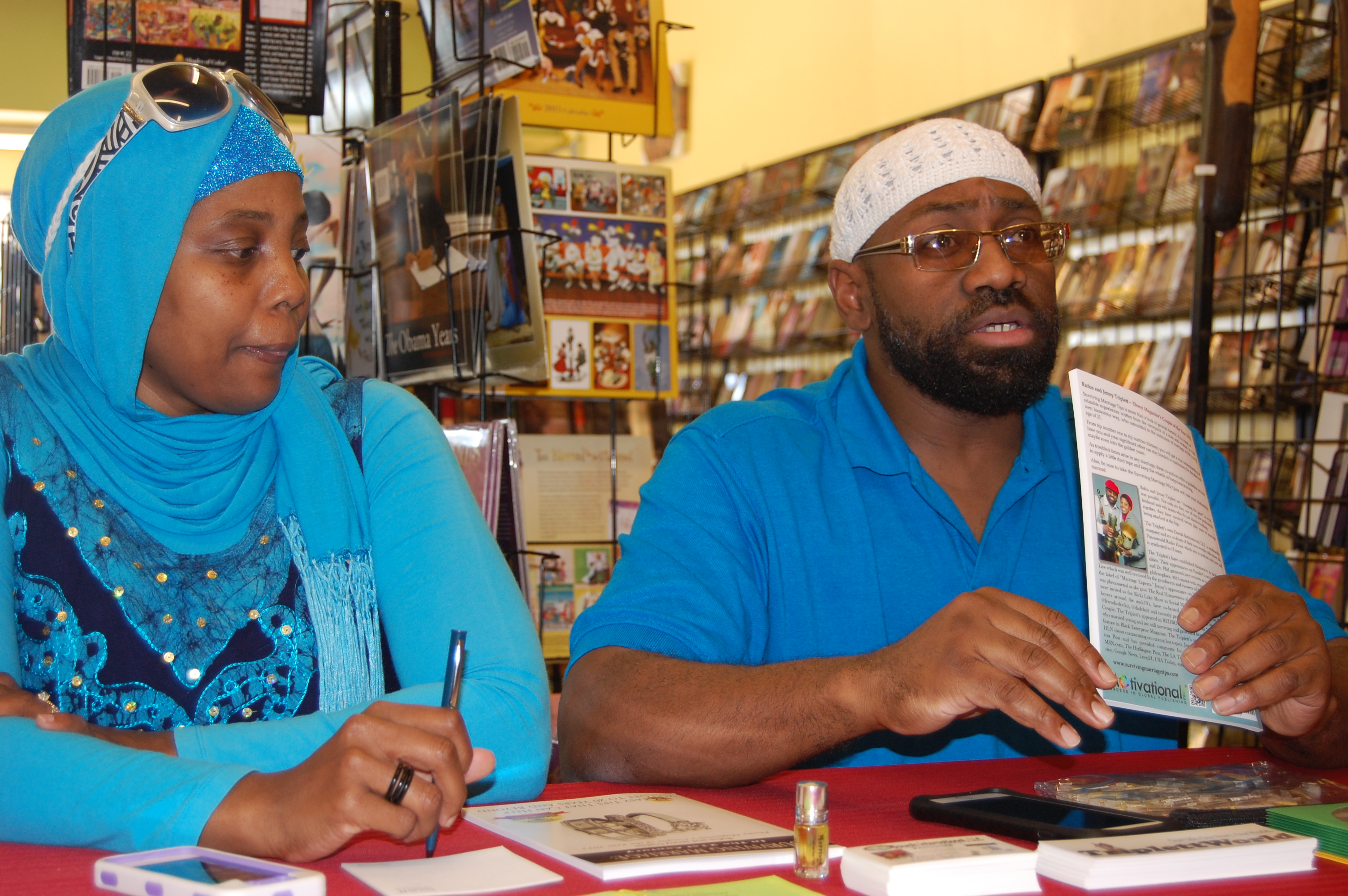 California Book Signing on Rufus and Jenny Triplett.com