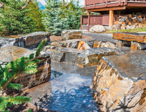 Canmore Landscaping Services and Retaining Walls