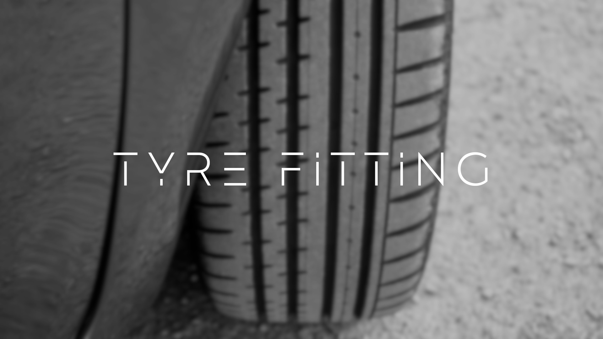 tyre fitting