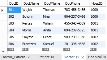 CIS336: Doctor