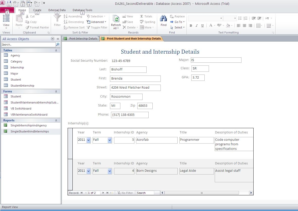 Screenshot_2nd_deliverable_SingleStudentAndInternships
