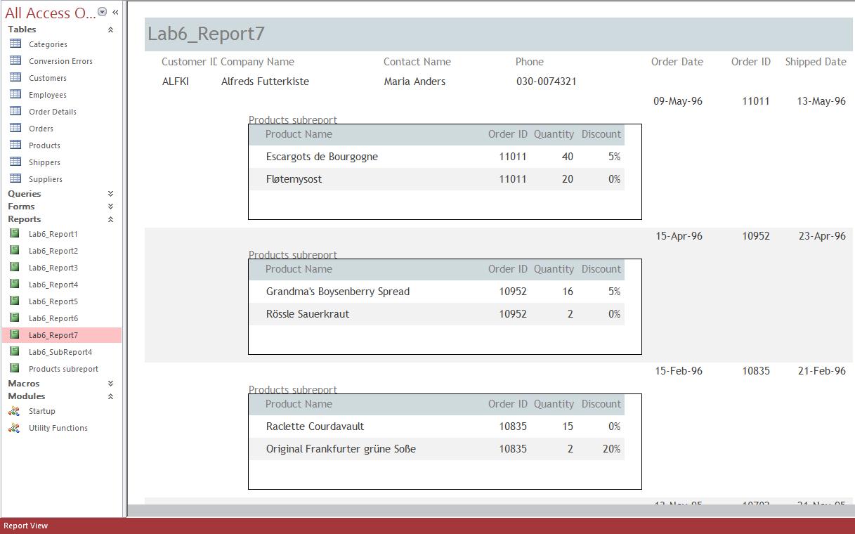 Lab6: Screenshot Report7