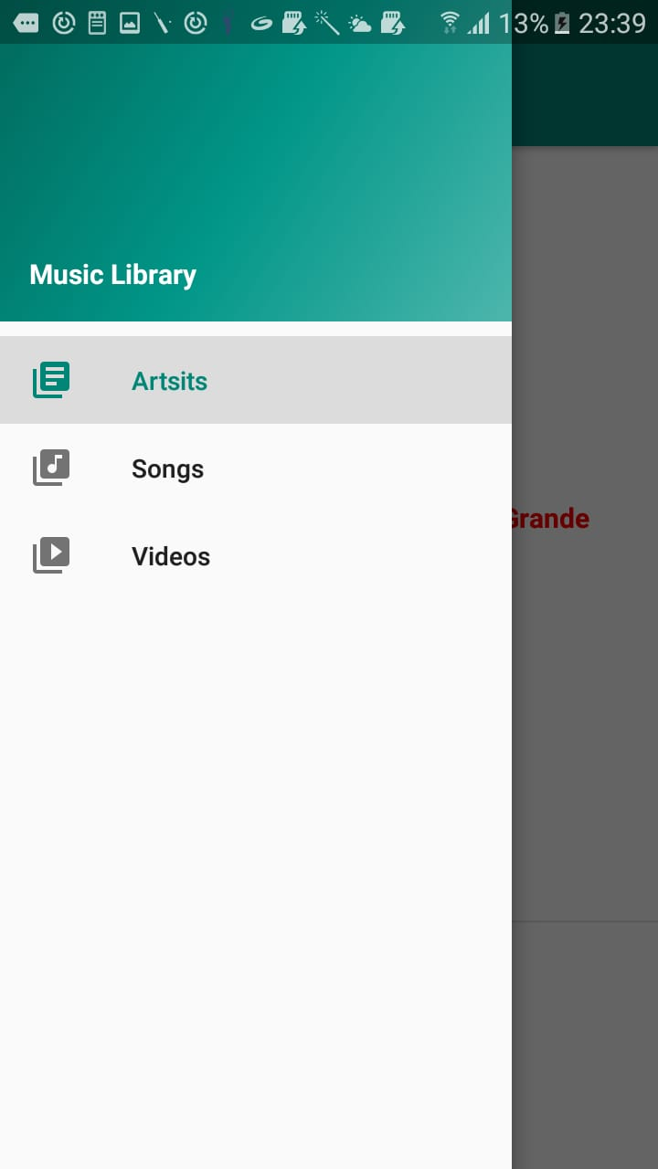 Week 8: Music Library
