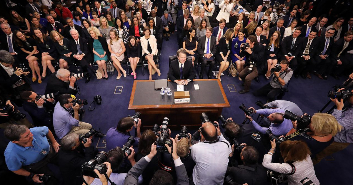 Two strategies to play out in Kavanaugh hearing
