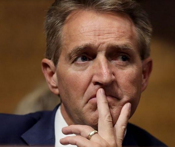 What is to become of Jeff Flake?