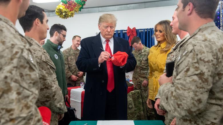 Trump Visits Iraq and Media Goes Nuts