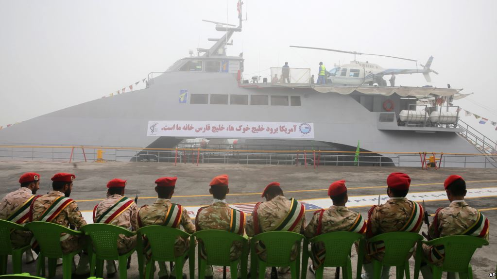 Iran Launches Stealth Destroyer