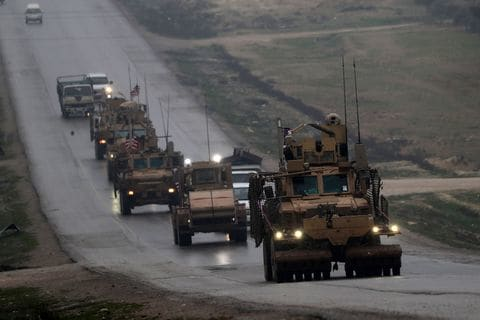 US-Turkish tensions rise over the plan to withdraw troops from Syria.
