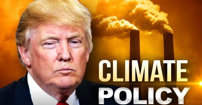 Trump Slams Climate Change