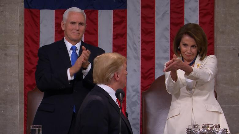 State-of-the Union no Kumbaya Moment for Trump and the Democrats