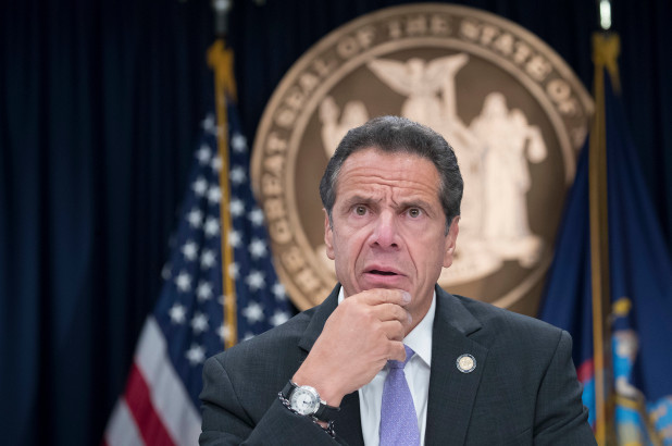 Trump Brands Governor Cuomo a -Presidential Harasser-