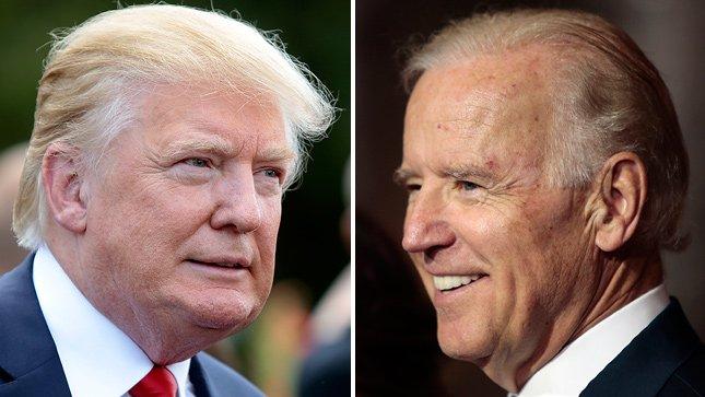 """Trump Says Biden Has a """"Low I.Q."""""""