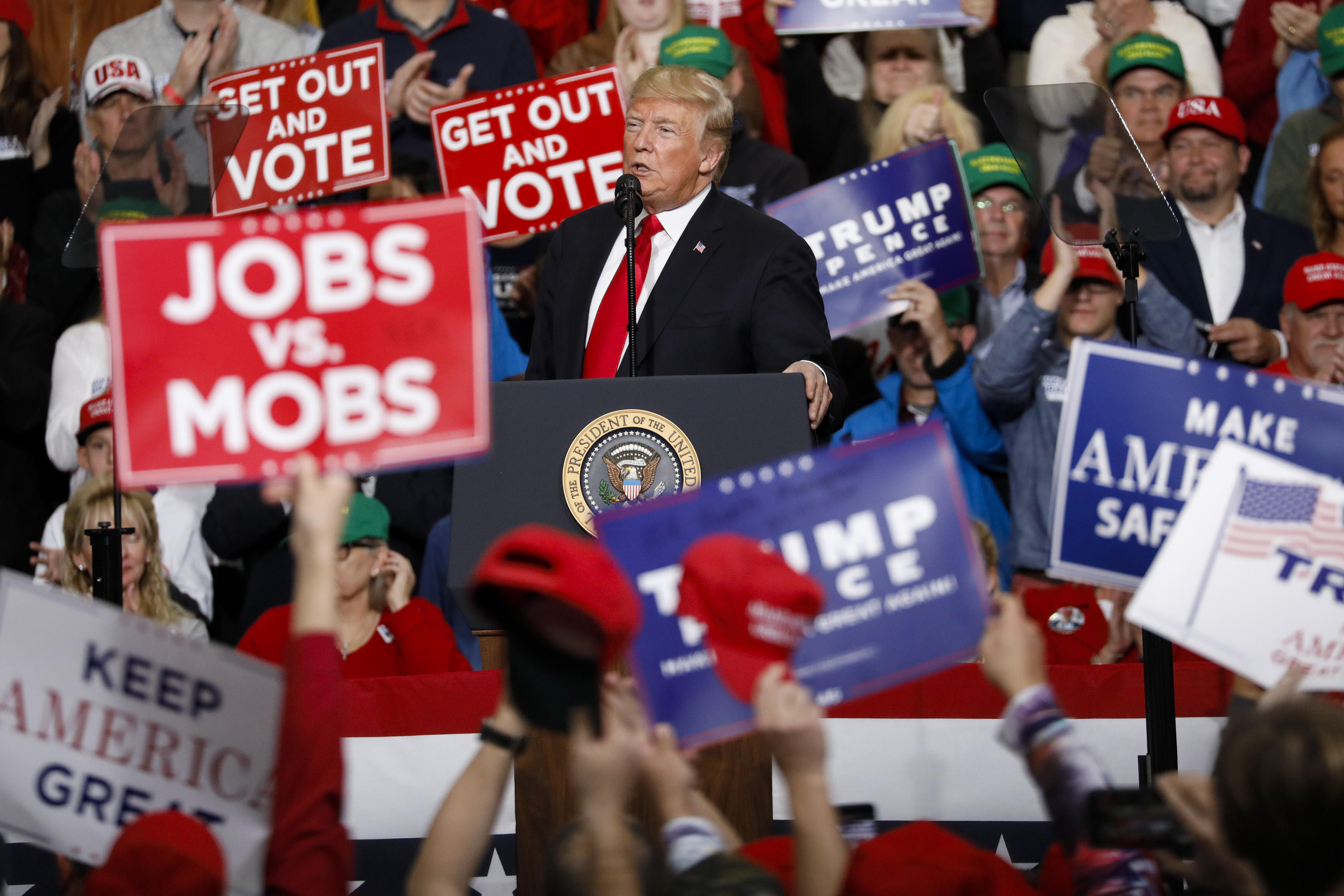 Trump Riding High At His First Rally Since End of Mueller Probe