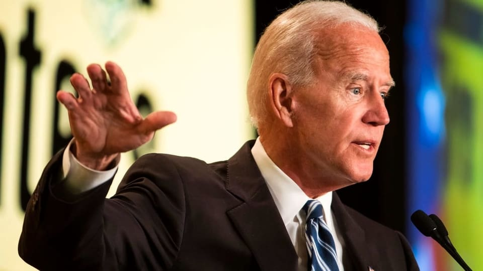 Biden Enters the Race, But Something's Missing